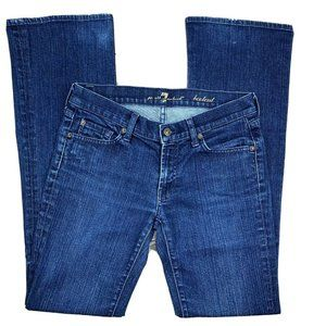 7 For All Mankind Denmark Chain Link Bootcut Jeans